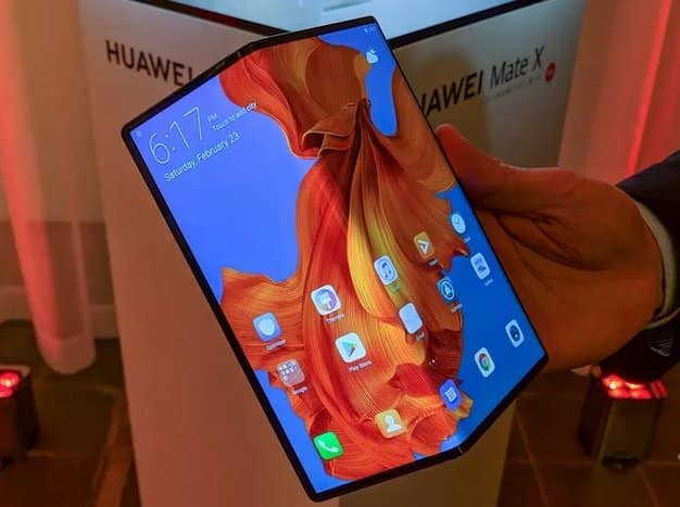 Three foldable smartphones set to be launched by Huawei.