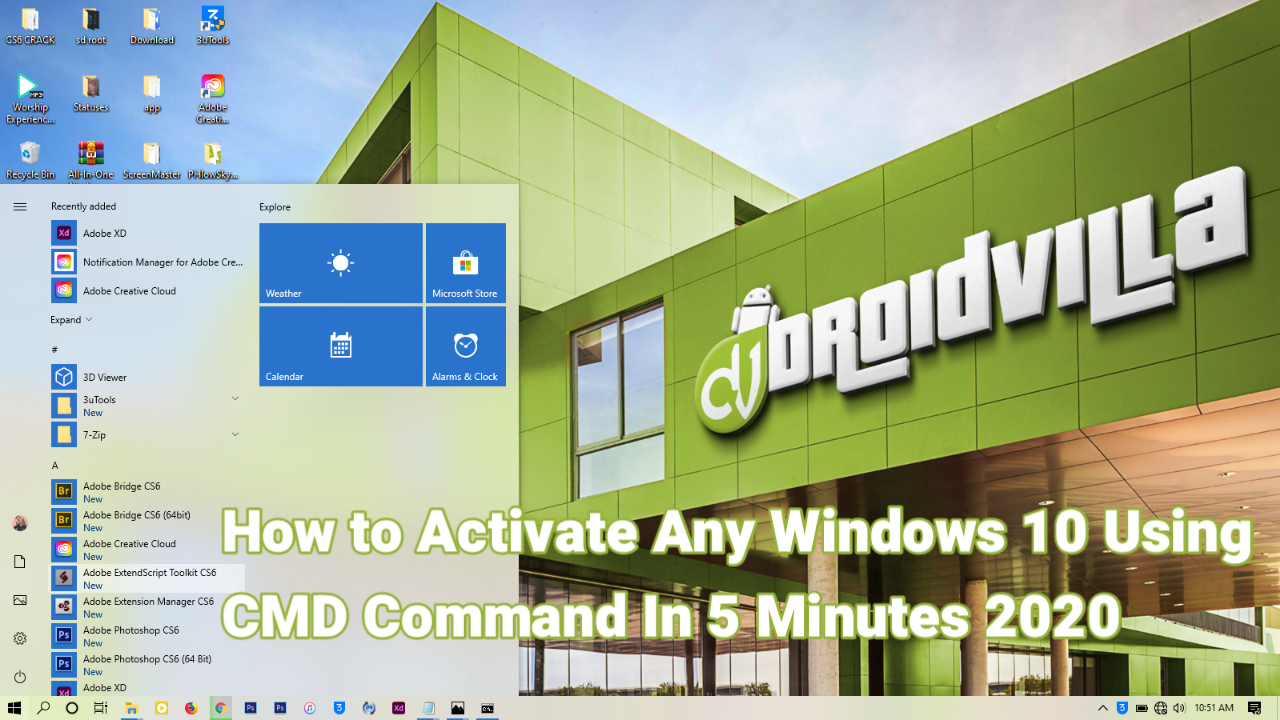 How To Activate Any Windows 10 Using CMD Command In 5 Minutes