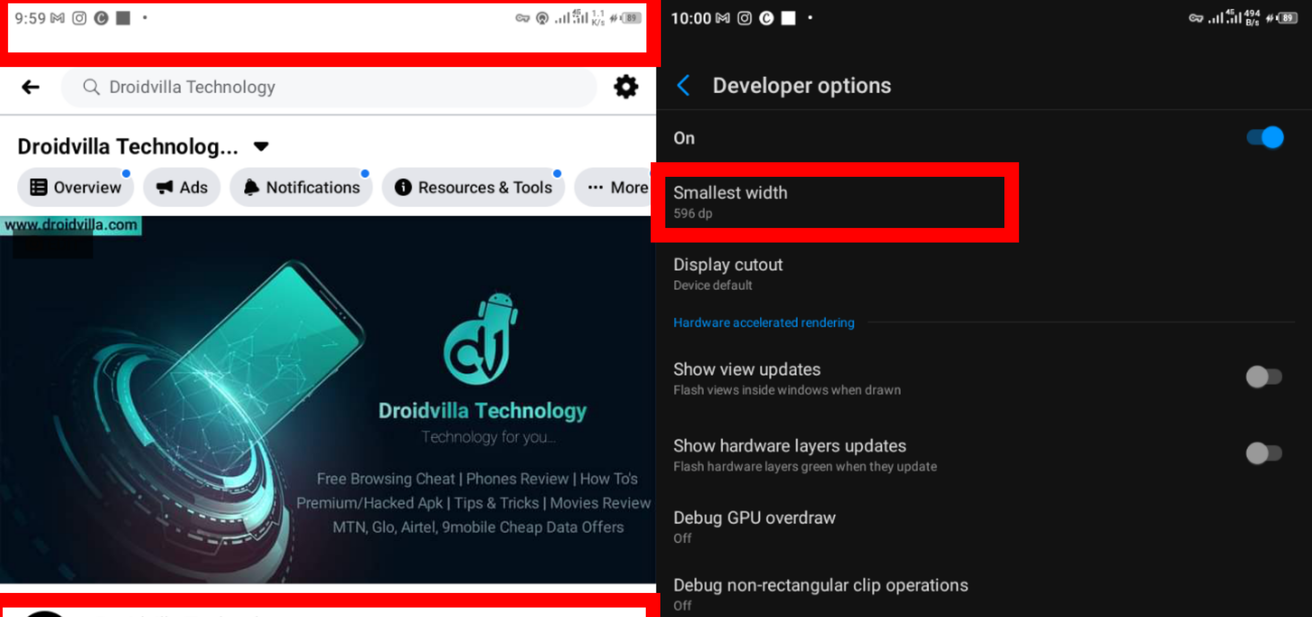 How to Reduce/Increase Android Screen display DPI size - Android Developer Option Tips and Tricks